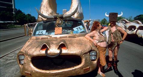 longhorn bedrock car