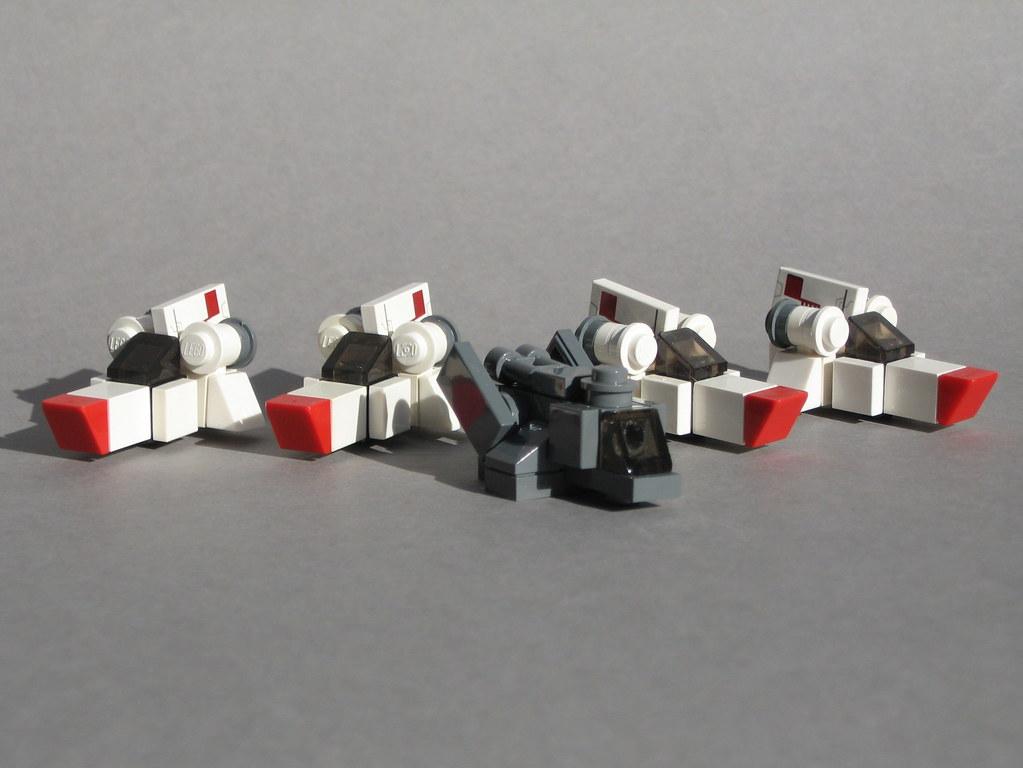 lego cylon raider instructions