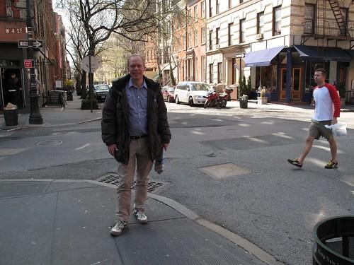 My friend Sture in West Village, Manhattan