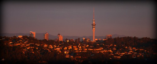 Auckland Sunset by you.