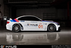 GT Haus BMW M3 (jeremycliff) Tags: blue red orange cliff white chicago black canon illinois wheels fast sigma jeremy rig bmw m3 1020 northbrook rolling exhaust widebody savini meisterschaft e92 40d autowerks jeremycliff myacreative gthaus