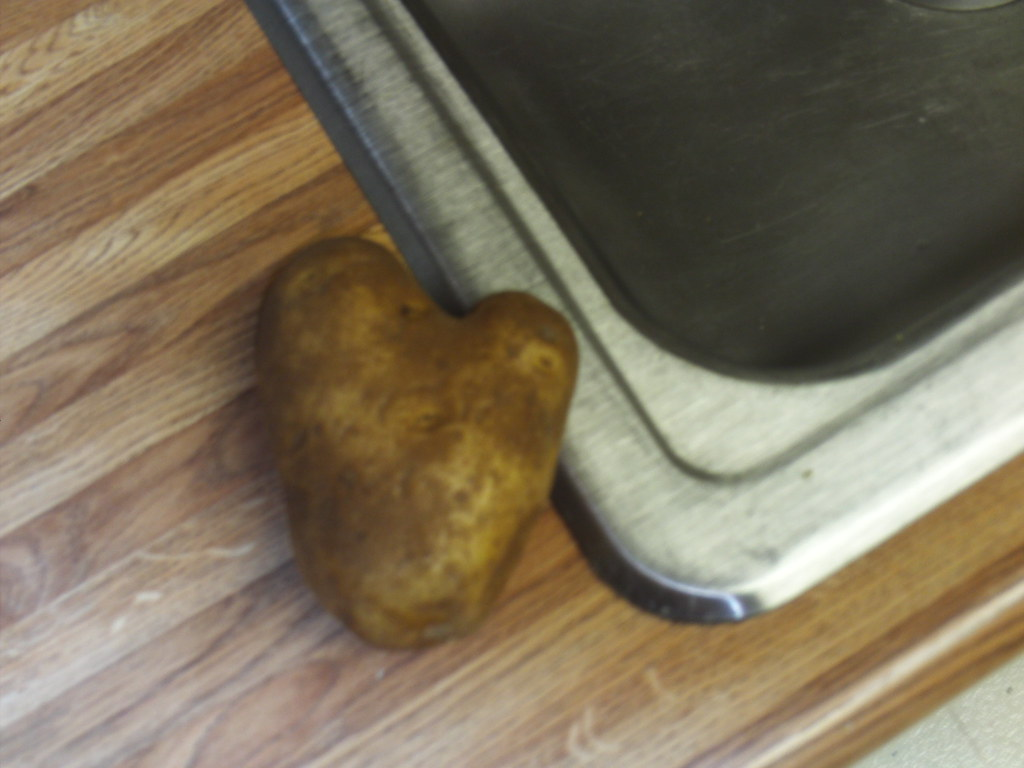 A Heart Shaped Potato