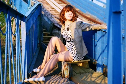 フリー写真素材, 人物, 女性, ロシア人, ドレス,
