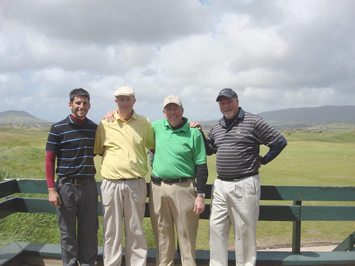 Golfers at Waterville