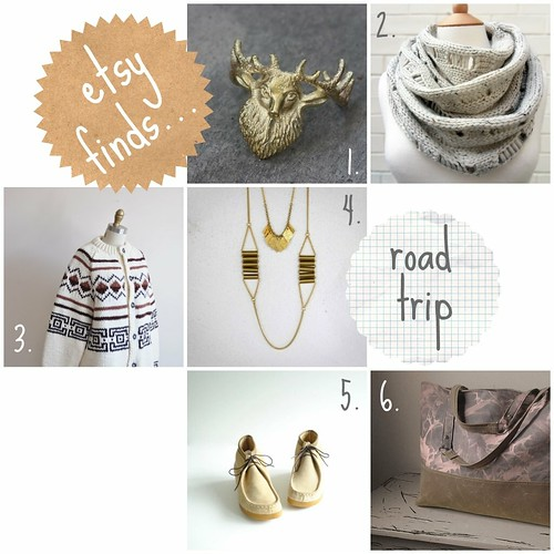 etsy finds :: road trip edition