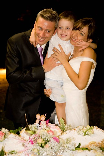 Cake topper matrimonio di famiglia (realizzato per Monica)