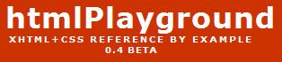 HTMLPlayground Logo