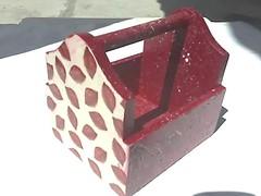 cestinha utilitaria (Picoli Artes) Tags: papel guardanapo relevo guardanapos decopagem papisebolinhas quetudodebom cestinhasdepascoa miniportajoias ebolinhas