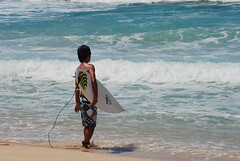 Contemplation (~BJG~) Tags: ocean blue water hawaii waves surfing surfers banzaipipeline banzaibeach