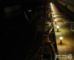 مـــرسى (A.Alwosaibie) Tags: light spot صور صوره تصوير شاطئ مرسى بحر شراع أنوار بحار ليل ضوء سفن عتمه رصيف انارة بقعة