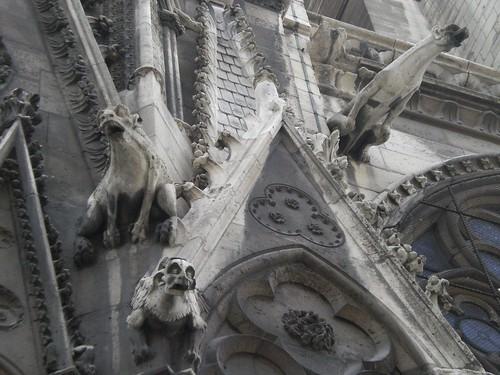 Gargolas de Notre Dame (abril, 2007)