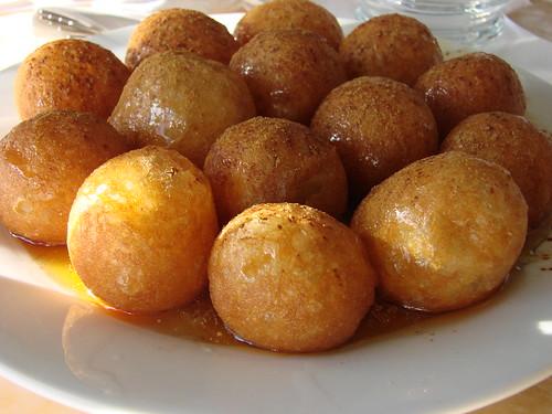 Plate of Loukoumades
