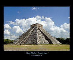Maya Mexico - Chichen Itza - El Castillo (Ani1967) Tags: travel history architecture america mexico temple pyramid maya framed unescoworldheritagesite unesco chichenitza civilization archeological yucatanpeninsula elcastillo blueribbonwinner new7wondersoftheworld platinumheartaward alemdagqualityonlyclub mygearandme