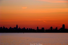 Sunrise Over N.Y. City (Free Of The Demon) Tags: travel sky moon ny beautiful skyline america port sunrise wow elizabeth nj jersey anthony picturesque soe smrgsbord goldenglobe razzie bej fineartphotos golddragon abigfave colorphotoaward flickrenvy ysplix ilovemypic theunforgettablepictures brilliant~eye~jewel awwwed goldstaraward shiningstar flickrestrellas yourpreferredpicture llovemypic beautyunnoticed natureselegantshot spiritofphotography digitaleloguence onewordwow qualitypixels skyascanvas gr8photo llovemypics freeofthedemon atomicaward edcarbo