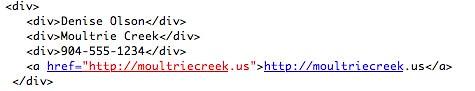 exemple de HTML Simple