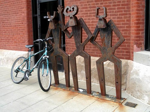 Bike rack by mag3737