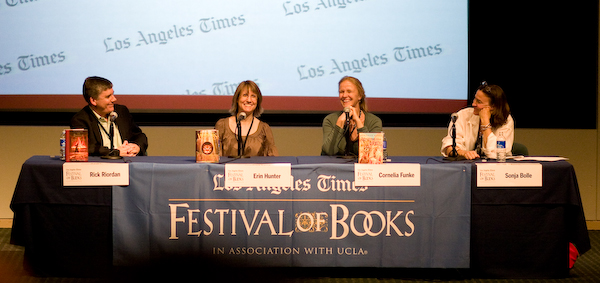 Tween Fantasy Series at the LA Festival of Books 2008
