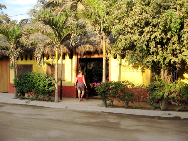 Entering Palapa Joe's