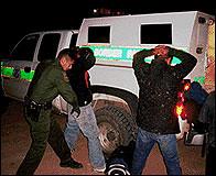 Detención de inmigrantes ilegales en EEUU
