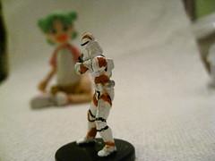 Yotsuba vs. Stormtrooper (megalosaurus) Tags: stormtrooper yotsuba