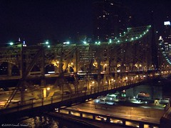 Roads and Bridges (CVerwaal) Tags: bridge night canon bridges fdr 59thstreet 59thstreetbridge canong9