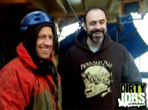 Boundary Bay Sweatshirt Sighting on Dirty Jobs