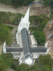 St Andrew's Cathedral : aerial view (PicturesSG) Tags: st singapore andrews cathedral snap religiousbuildings nlb architectureandlandscape singaporepictures buildingtypes 72dpijpegonly