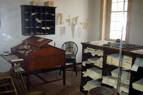 Benjamin Franklin Baches Newspaper Office