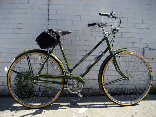 1973 Raleigh, my fashion accesory