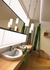 Bathroom (Ngoc T Phan) Tags: cinema architecture photoshop interior render cinema4d c4d 4d vray
