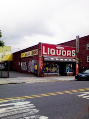 Liquors (SecondHand) Tags: building brooklyn store sigh liquors