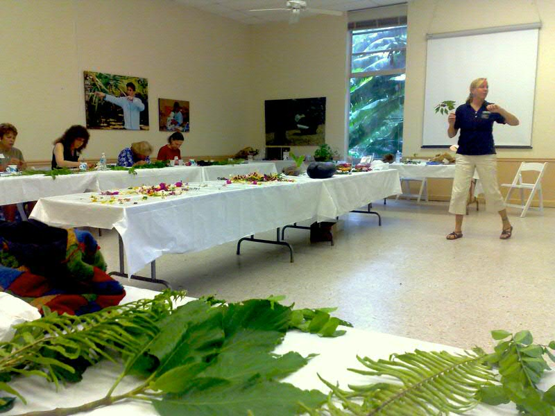 basic botany course at fairchild