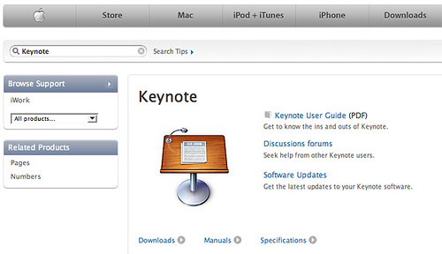Keynote Manual Download