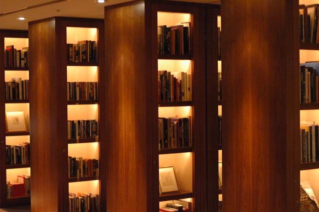 library at park hyatt tokyo