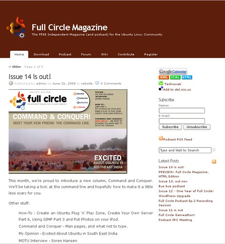 Ubuntu fullcircle magazine