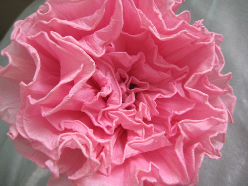 Vintage Crepe Paper Flower by you.