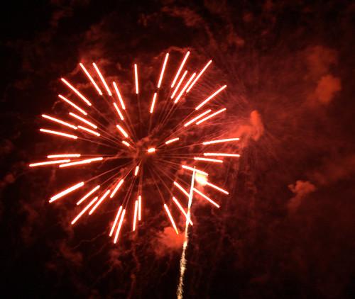 Hermann Park Fireworks 3