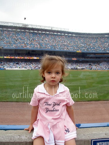 Her First Yankees Game