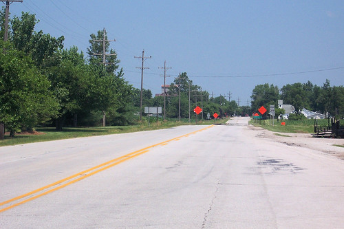 Northbound in Clinton County