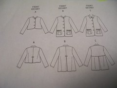 new short jacket pattern