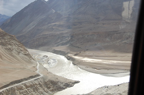 Indus and the Zanskar Meet