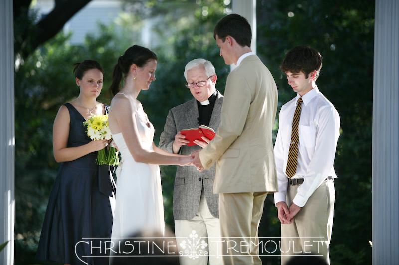 Congratulations, Maren & Clint! Wedding in Galveston, Texas