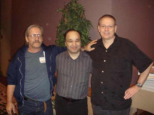 Stuart Halpryn, Dr. Sami Fab and Micheal Savoie in Las Vegas