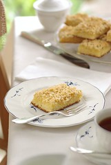 Kaffeeklatsch (Thorsten (TK)) Tags: food coffee cake germany baking sweet traditional butter german bakery almonds vanilla tradition butterkuchen buttery foodphotography kaffeeklatsch foodpresentation foodstyling thorstenkraska