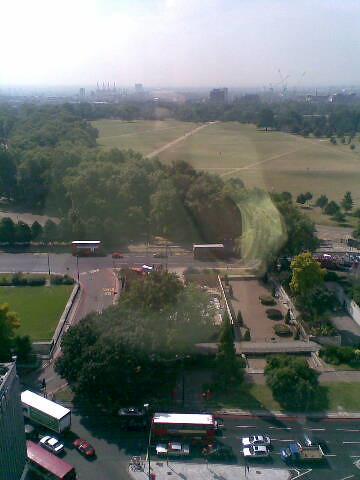 Hyde Park reflection