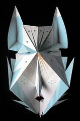 otra mascara mas (+        |-_-| ZzZzZZzZZZzzz...) Tags: paper mask mascara papel plegado