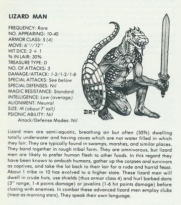Image of a Lizard Man