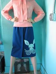 octobunny skirt (~aorta~) Tags: vintage clothing skirt etsy applique aorta