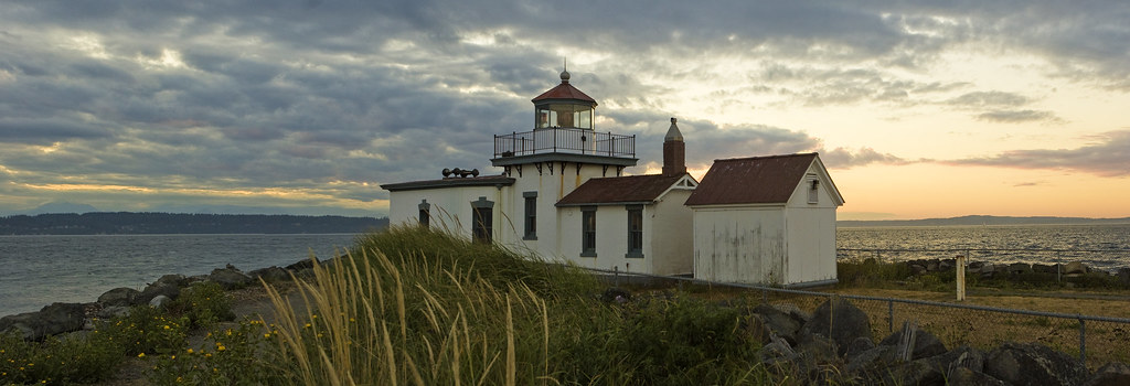 West point Light house, Discovery park, Seattle
