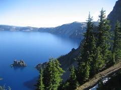 215/366 - 2 Aug [Morning Light -Crater Lake]